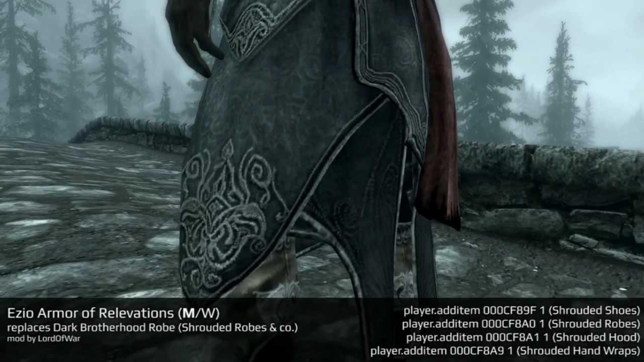 Skyrim Assassin Armor Mods Skyrim Mods Assassins
