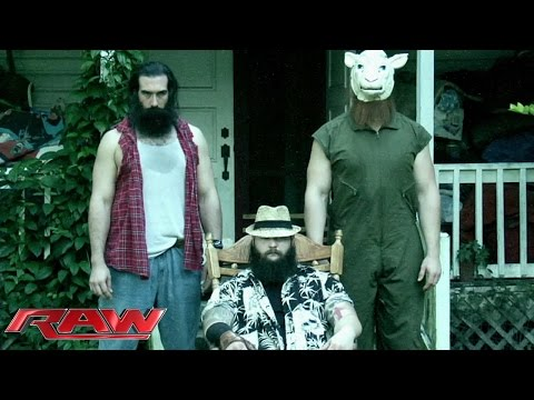 The Wyatt Family Sends A Cryptic Message To The Wwe Universe: Raw, Sept. 29, 2014 video