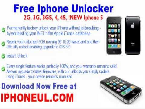 Unlock 4g Iphone 4.1 video