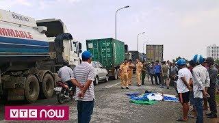 """Dân sợ ra đường vì """"hung thần"""" container"""