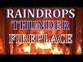 Ambience Fireplace Gentle Rain Raindrops And Thunder 8 Hours mp3