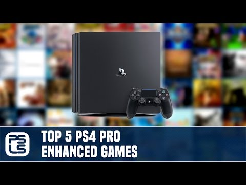 Top 5 PS4 Pro Enhanced Games