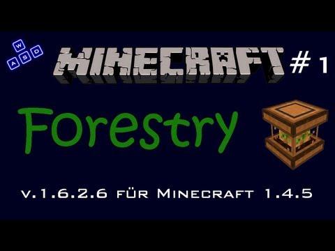 Minecraft Mod: Forestry v.1.6.2.6 für 1.4.5 - #1 Farmen & Plantagen [Deutsch][HD]