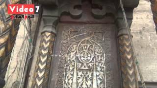 بالفيديو.. منبر جامع السلطان برقوق.. تحفة معمارية نادرة