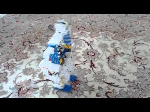 4 DoF Bipedal robot with XL-320, CM9.04 and HaViMo