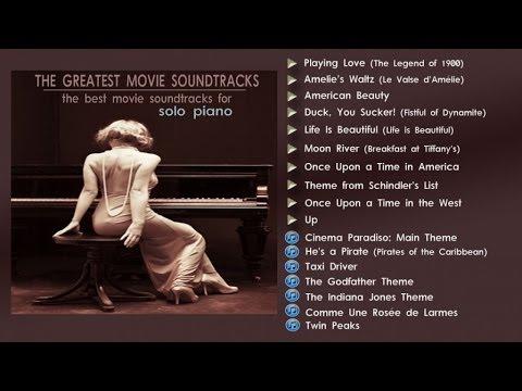 The Greatest Movie Soundtracks - Solo Piano