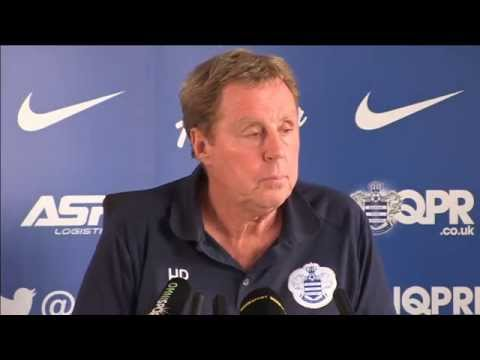 HARRY REDKNAPP'S PRE-MANCHESTER UNITED PRESS CONFERENCE - 12/09/14