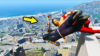 GTA 5 WRESTLING LIKE IN WWE #22 (RKO, Kinshasa, AA, and ,more!)
