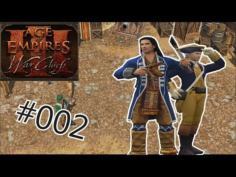 Let's Play Age of Empires III: The War Chiefs #002: Hessische Geiselnehmer