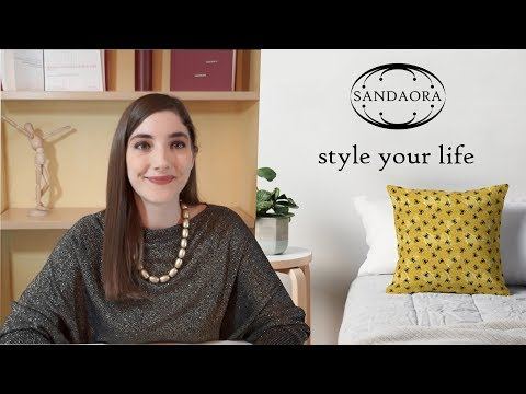 Style your life with SANDAORA, a new fashion & home décor brand
