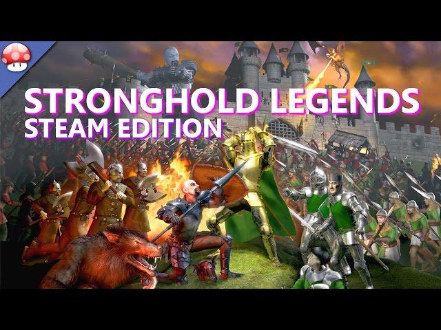 Руководство запуска: Stronghold Legends Steam Edition по сети