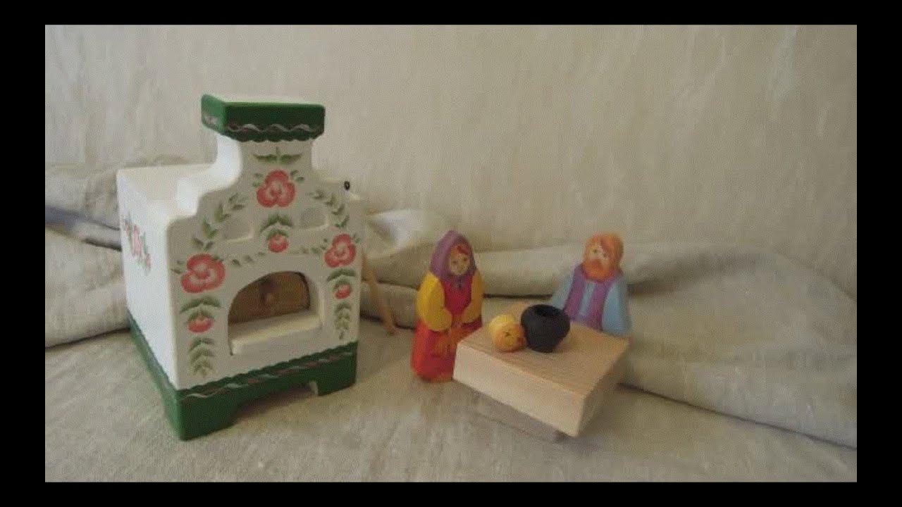 Как сделать печку для кукол из картона своими руками