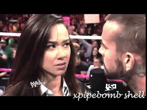 CM Punk and AJ Lees Love Story MV 100+ subscribers