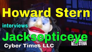 Puppet Comedy: Howard Stern Interviews Jacksepticeye Famous Youtuber: Puppet Show