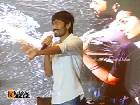 Dhanush at Mariyaan Movie Press Meet