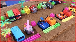 thomas the tank engine|paw patrol|tayo the little bus|kids video|learn colors|disney cars |toy car|