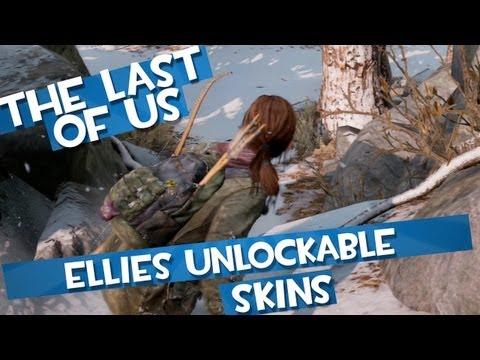 The Last of Us: Ellies Unlockable Bonus Skins