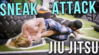 Jiu Jitsu Sneak Attacks - Ultra Spiritual Life episode 81