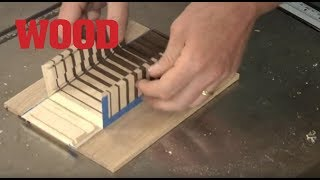 Making a Fold-up Mitered Box - WOOD magazine