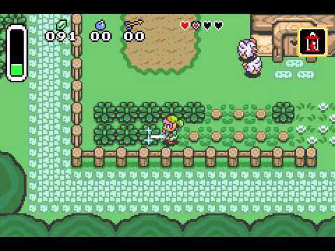 The Legend of Zelda - A Link to the Past & Four Swords - Legend of Zelda, The - A Link to the Past  and  Four Swords,Kakariko village (GBA) - User video