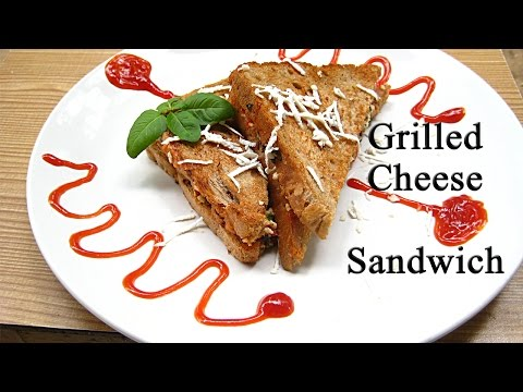Grilled Cheese Sandwich Recipe - How To Make Grilled Cheese Sandwich