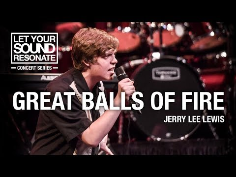 Great Balls of Fire by Jerry Lee Lewis Performed by Students of Resonate Music School & Studio