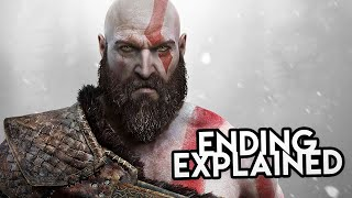 God of War 4 (2018) STORY & ENDING EXPLAINED