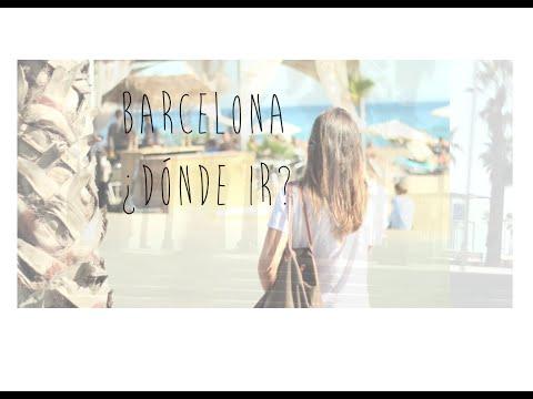 ¿Dónde ir en Barcelona? Mis sitios favoritos: restaurantes, tiendas, paseo...