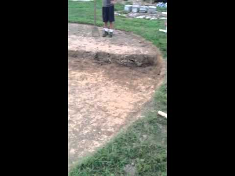 How to level ground for above ground pool