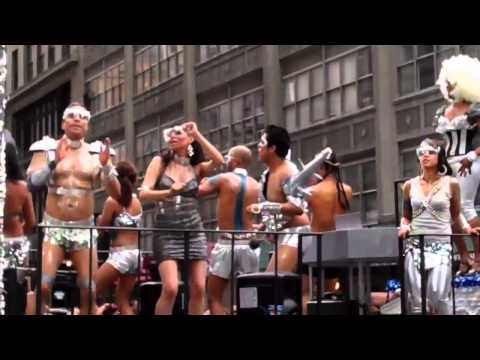 Aidforaids Hotties Or Wierd Muscle Guys From Space...  2011 Nyc Gay Parade video
