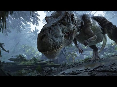 Crytek's Back To Dinosaur Island Vr Demo (direct Feed) video