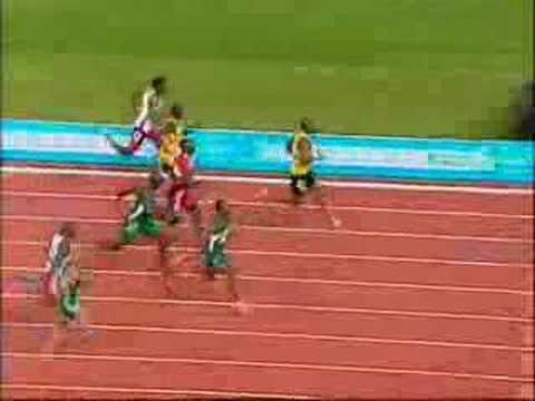 Commonwealth Games 2006 Mens 100M Final - Asafa Powell