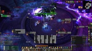Nighthold Mythic - Skorpyron - Rank1 @ 1.62M hps - Holy Paladin POV