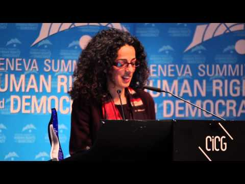 Masih Alinejad is awarded the 2015 Women's Rights Award