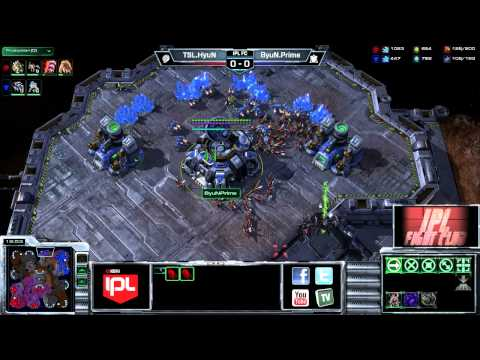 HyuN vs Byun - Game 1 - FC