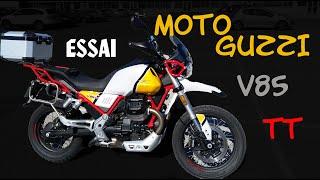 Fabike #Essai MotoGuzzi V85 TT // Déroutante et rassurante!!