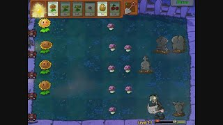 Plants versus Zombies - level 02-01