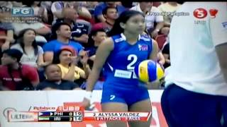 ALYSSA VALDEZ 3 aces in a row (goodluck kiss)