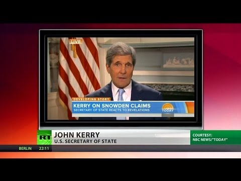 Kerry attacks Snowden for staying in Russia