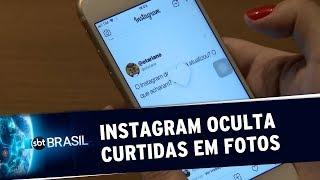 Instagram oculta curtidas em fotos | SBT Brasil (17/07/19)