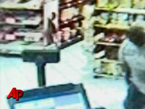 Man Hits Armed Robber With Beer Bottle Video