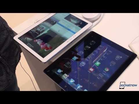 Galaxy Note 10.1 2014 vs Apple iPad (IFA 2013 Hands-On)