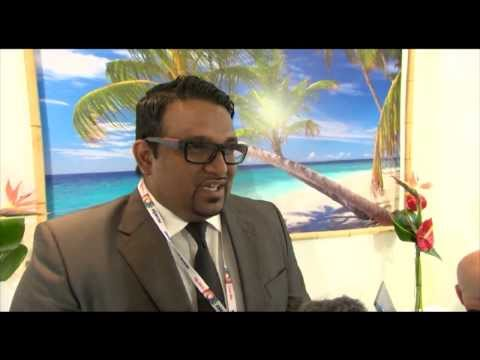 Ahmed Adeeb Abdul Gafoor, minister of tourism, Maldives @ WTM 2012