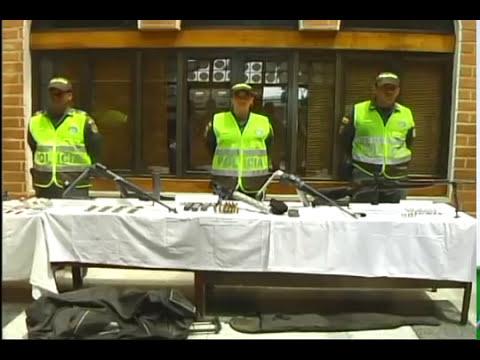Policía incautó potente arsenal a la banda delincuencial de Pachelly