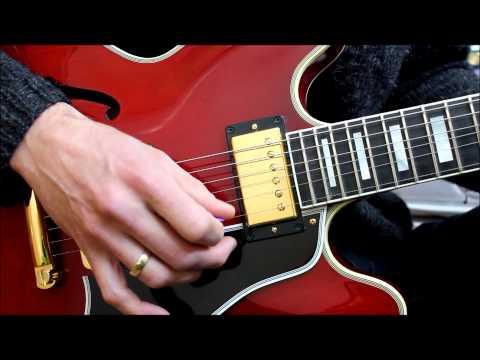 '81 Marshall JMP 2203 and Gibson Custom ES-355 LTD