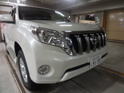 New 2014 Toyota Land Cruiser Prado TX leather seats Ready for delivery Tokyo Japan