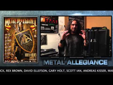 Mark Osegueda Of Death Angel Talks About Metal Allegiance Show At House Of Blues January 21, 2015