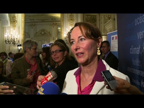 Conférence de presse de Ségolène Royal