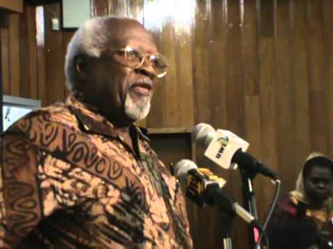 Dr Julius Winston Garvey Speaks  The Rastafarian Conference 2013 video