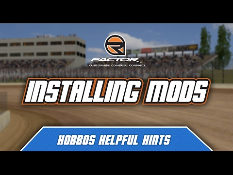 rFactor: How to Install Mods (Guide/Walkthrough)